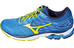 Mizuno Wave Rider 20 Shoes Men Directoire Blue/Saftey Yellow/Peacoat